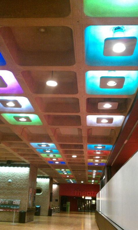Barbican Lighting In Ceiling Alcoves School Displays