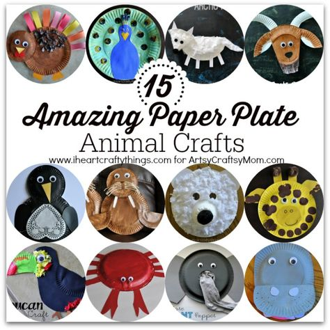 15 Amazing Paper Plate Animal Crafts | Paper Plate Crafts