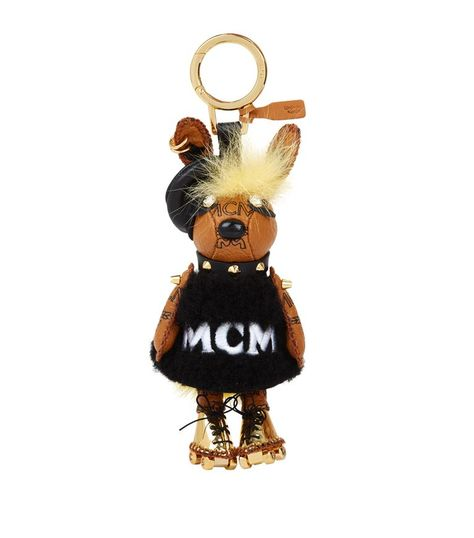 MCM Punk Rabbit Fur Charm.  mcm     MCM   Pinterest   Rabbit fur ... 104cd9b28f