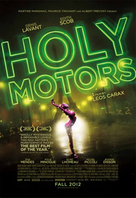 "MP934. ""Holy Motors"" Movie Poster by Cold Open (Leos Carax 2012) /"