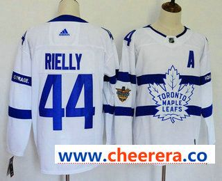pretty nice ba1e3 7d4e6 Men's Toronto Maple Leafs #44 Morgan Rielly White 2018 ...