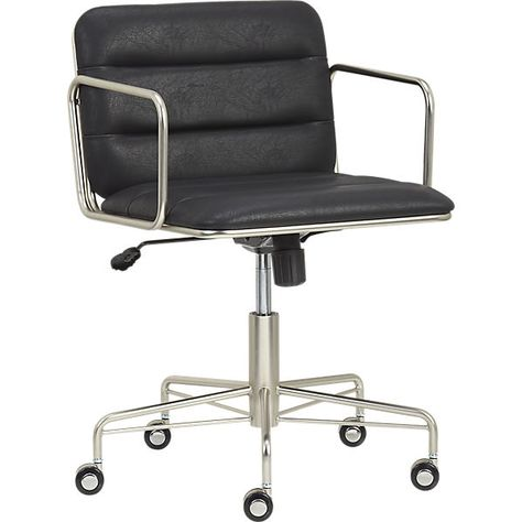 Mad Office Chair In Office Furniture Cb2 Black Office Chair