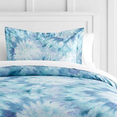 Tie Dye Dreams Duvet Cover Sham Girls Duvet Tie Dye Bedding Duvet Bedding Sets