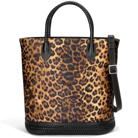 Cool Giraffe Leopard Womens Classy Satchel Handbag Handbag With shoulder Strap Crossbody Bag