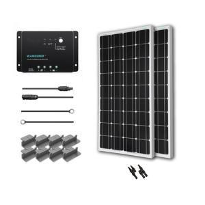 Renogy 400 Watt 12 Volt Monocrystalline Solar Starter Kit For Off Grid Solar System Starter400d Wd 12v Solar Panel Solar Panel Installation Best Solar Panels