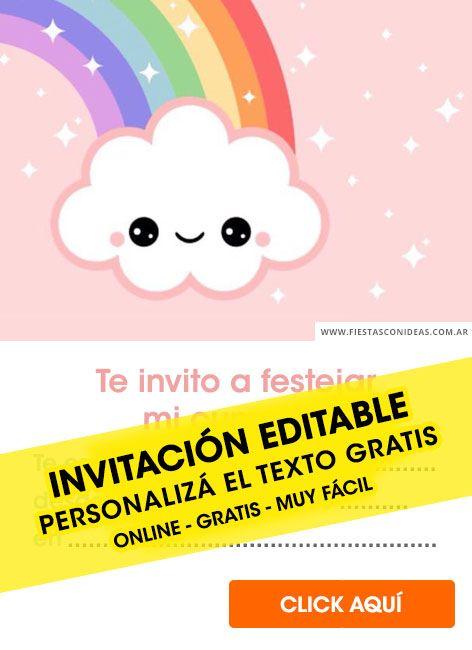 Tarjeta De Cumpleaños De Baby Shower Invitaciones De