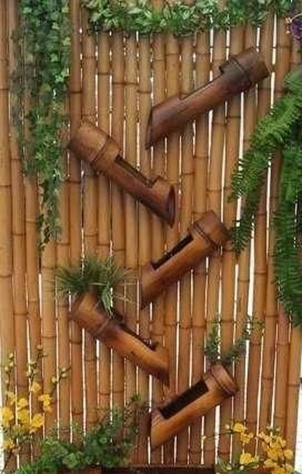 20 Stunning Diy Bamboo Wall Art And Decor Ideas Bamboo Garden