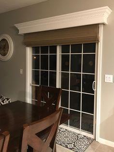 Pin By Ethel House On Hogar Sliding Glass Door Window Treatments Sliding Glass Door Window Sliding Patio Doors Window Treatment