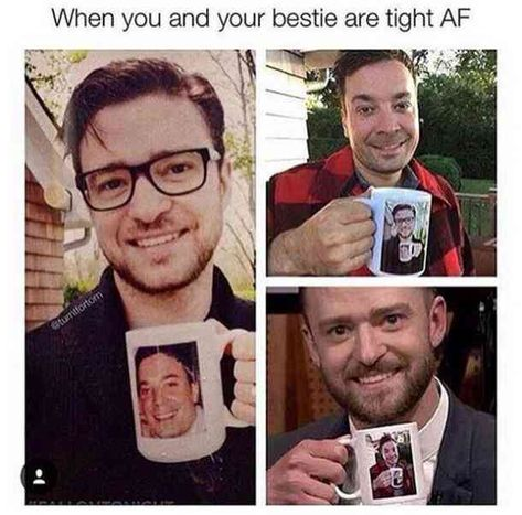 Jimmy Fallon and Justin Timberlake have the best relationship. - Jimmy Fallon and Justin Timberlake have the best relationship. Funny Shit, Stupid Funny Memes, Funny Relatable Memes, Funny Posts, The Funny, Funny Stuff, Funy Memes, Hilarious Quotes, Funny Life
