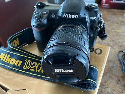 Nikon D200 10 2 Mp Digital Slr Camera 18 70mm Afs Nikkor Digital Camera Digital Slr Digital Slr Camera