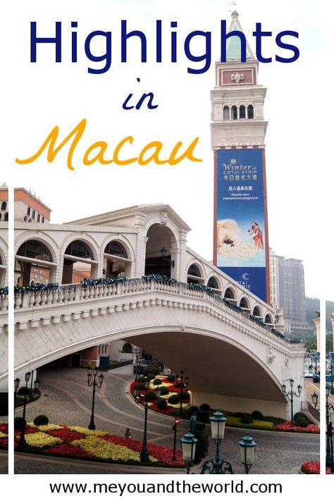 Macau Das Las Vegas Des Ostens Reiseziele Inspiration Pinterest