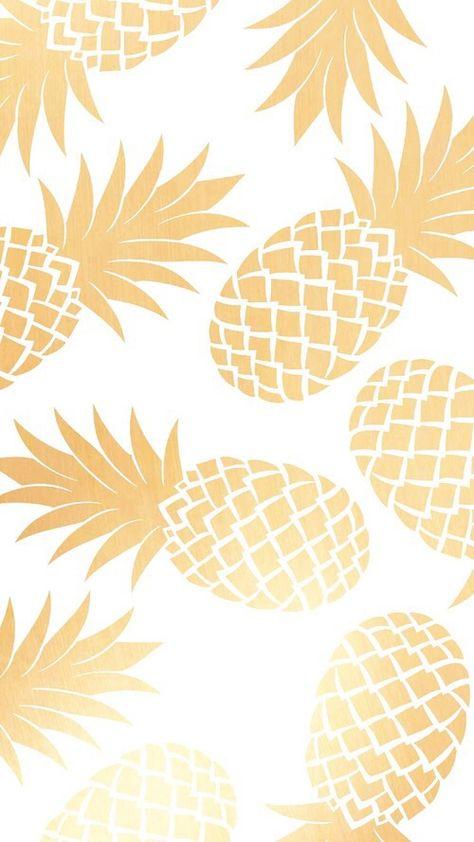 Imagen de wallpaper, gold, and pineapple