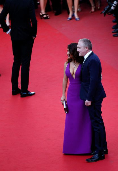 Salma Hayek And Francois-Henri Pinault At The 2015 Cannes Film Festival - The Cutest Cannes Couple Moments Of The Decade - Photos