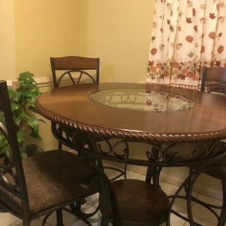 Glambrey Counter Height Dining Room Table Ashley Furniture