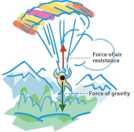 air resistance force diagram. gravity \u0026 air resistance   physics fun pinterest interactive activities, literacy and the force diagram o