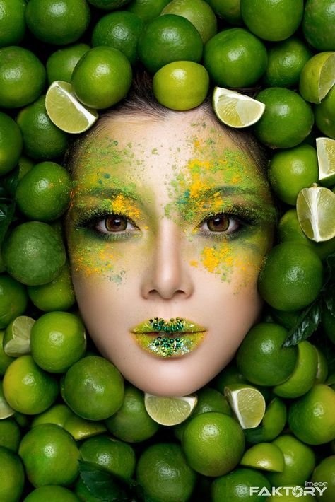 картинки макияж с фруктами