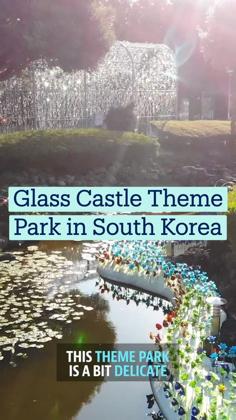 Glass Castle Theme Park in South Korea