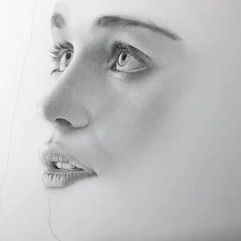 Kadın Çizimi Portre