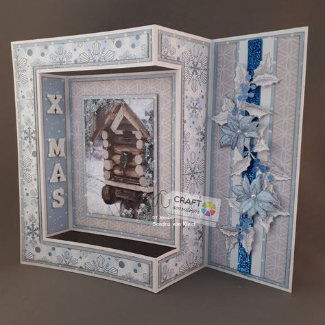 My Creations: side panel fold card...kerstkaart popupcards #xmascards #cardmakingtips #cricutcards #foldedcards #cardtutorials #christmastag #creativecards #besties