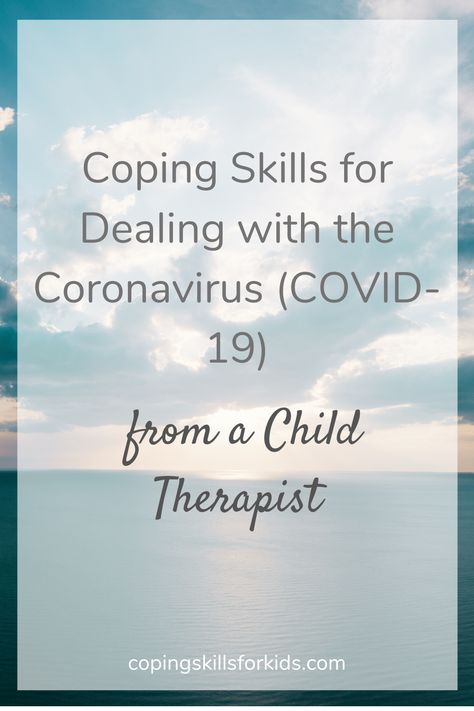 Coping with Coronavirus — Coping Skills for Kids Coping Skills Activities, Anxiety Coping Skills, Counseling Activities, Speech Therapy Activities, Stress And Anxiety, Career Counseling, Kids Coping Skills, Anxiety Relief, Elementary School Counseling