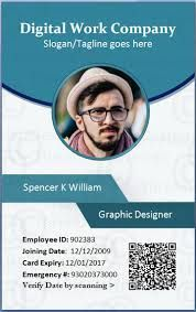 Image Result For Id Card Models In Psd Open File Format Employee Id Card Employees Card Id Card Template