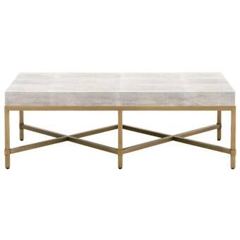 Cantu Marble Coffee Table Shagreen Coffee Table Gold Coffee Table Coffee Table