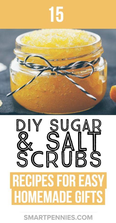 15 Easy DIY homemade sugar and salt scrubs (+Recipes)