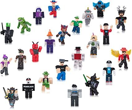 Amazoncom Roblox Toy Figures Playsets Toys Games Amazon Com Roblox Action Collection Series 2 Mystery Figure Ultimate Collector S Set Includes 24 Exclusive Virtual It In 2020 Roblox Roblox Sets Cool Things To Buy