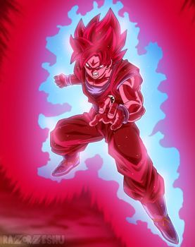 Dragon Ball Super Goku Ssj Blue Kaioken X20 By Razorzeshu Dragon Ball Super Manga Anime Dragon Ball Dragon Ball Super Goku