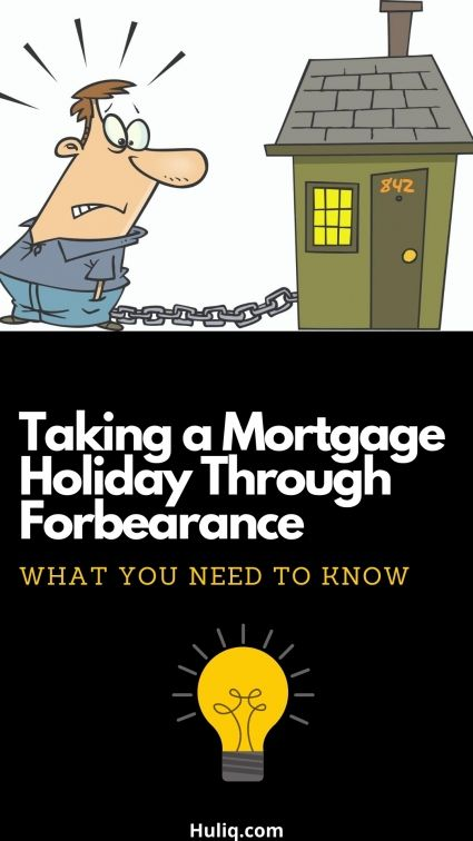 Taking A Mortgage Holiday Through Forbearance In 2020 Real Estate Tips Best Money Saving Tips Mortgage