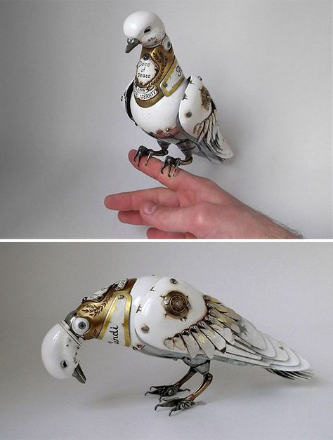 Steampunk Animal And Insect Sculptures By Igor Verniy - Thrive.