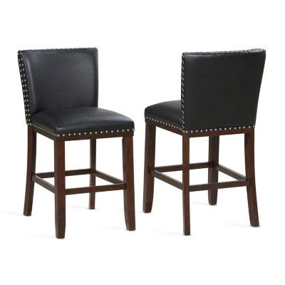 Tisbar Counter Stool 2pk Assorted Colors Black Counter Stools Counter Stools Counter Height Stools