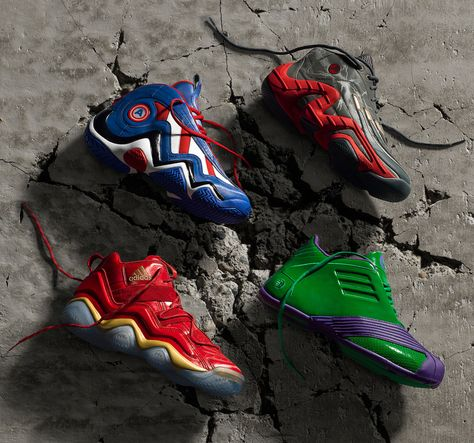 Marvel's Avengers adidas Basketball x Shoe Collection OXiuPZkT