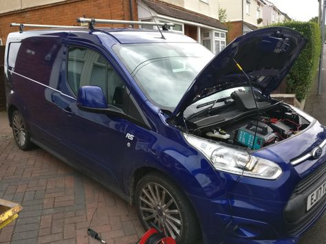 A Returning Customer Gets Us To Add More Power And Torque To His New Ford Transit Connect Rs 1 5 Tdci An Extra 25 Bhp And 50 Nm Of Torque Ford Transit Bmw Car