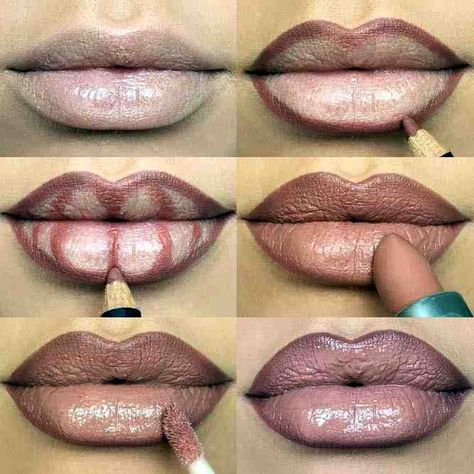 trendy ideas makeup lips tutorial ombre