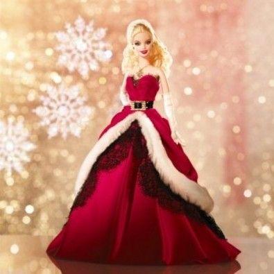 Barbie Natale.Natale 2007 La Barbie Da Collezione Su Amazon Dolls