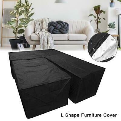 Advertisement 2pcs Set Furniture Dust Cover For L Shape Outdoor Fitment Couch Sofa Slipcover Slipcovered Sofa Furniture Sofa Couch
