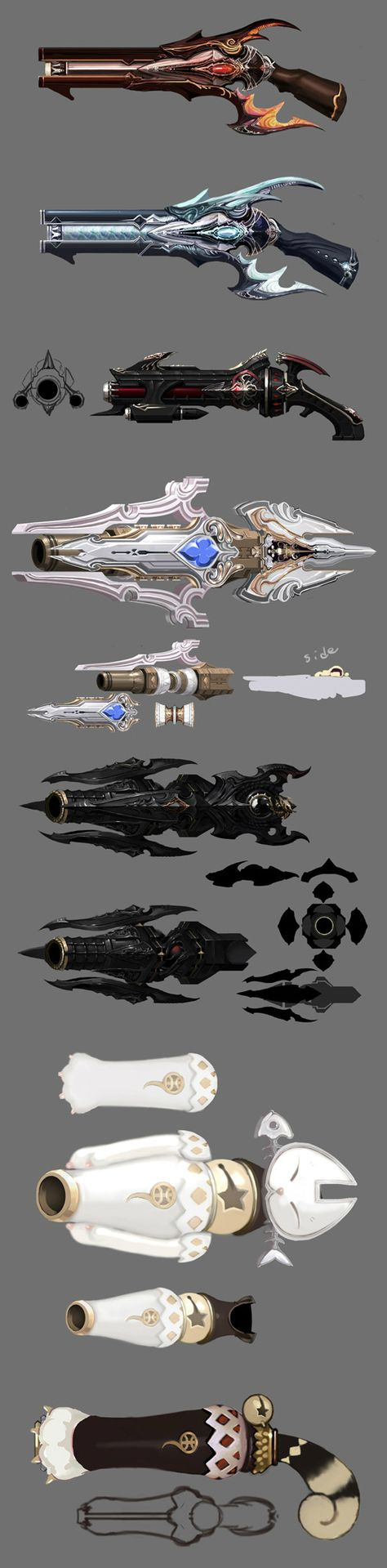224 best weapons_conceptartandmodels images on Pinterest | Fantasy ...