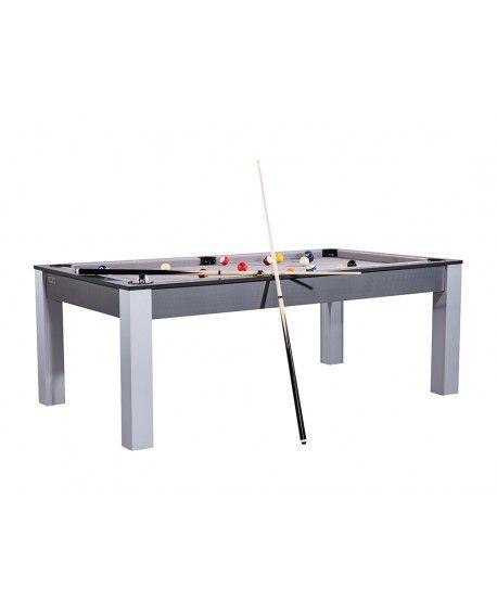 Table Billard Convertible Louxor Noir Gris Pas Cher Billard Table 2 10m Convertible Table A Manger Billard Convertible Table Billard Convertible Billard