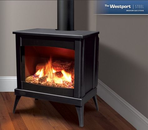 Enviro Westport Steel Gas Stove Gas Stove Fireplace Stores