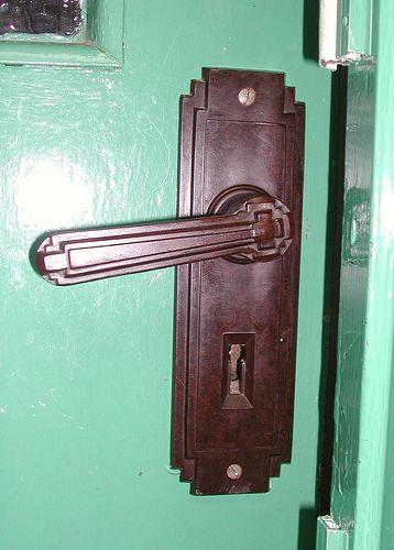 Silver End Interior Detail Bakelite Door Handle Door Handles Art Deco Furniture Art Deco Home