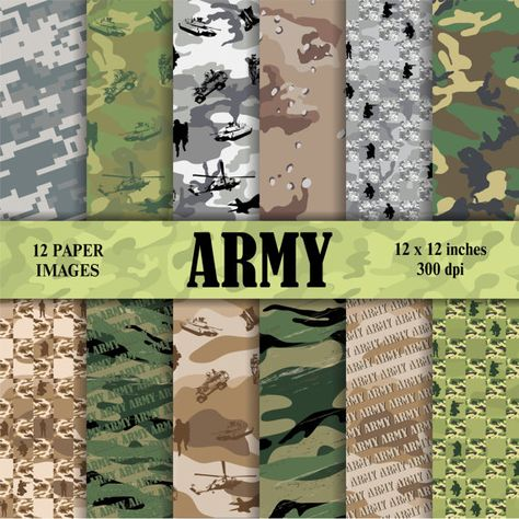 Check out our army scrapbooking paper selection for the very best in unique or custom, handmade pieces from our shops.