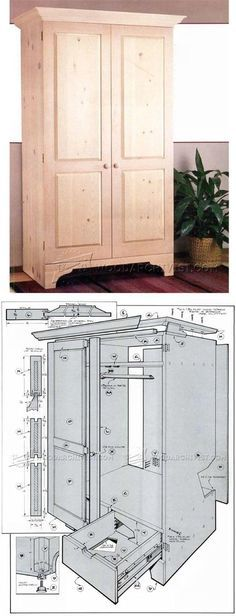 Build Armoire   Furniture Plans And Projects | WoodArchivist.com