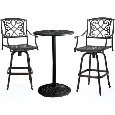 Outdoor Bar Height Table Set Google Search Outdoor Bar Stools