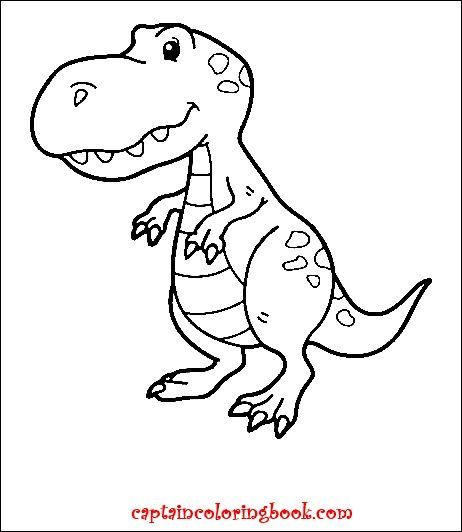 Pin On Dinosaur Coloring Pages