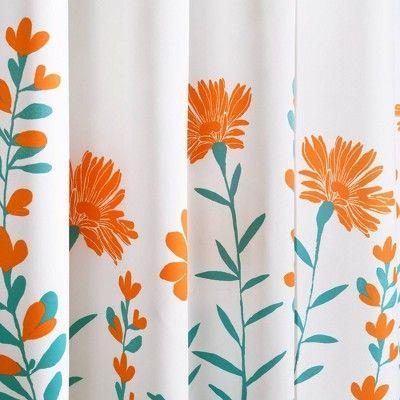 orange bathroom decor orange curtains
