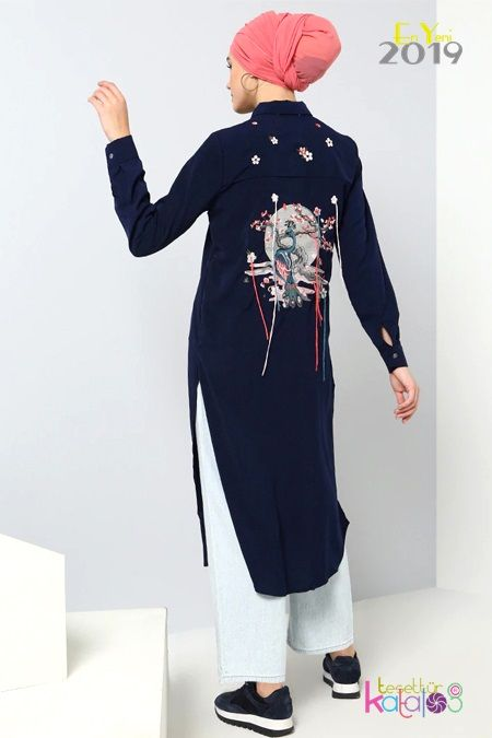 Benin Tunik Modelleri Tesettur Giyim Modelleri Tesettur Katalog Tunik Giyim Moda Trendleri