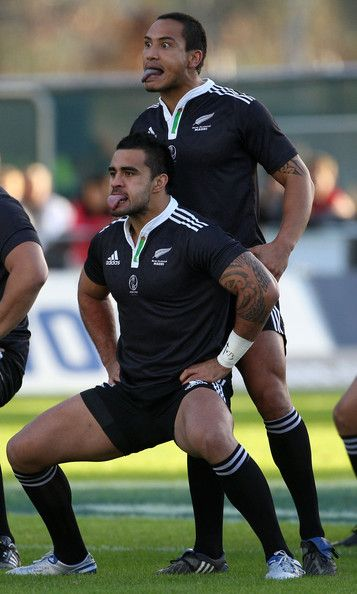 Hosea Gear and Liam Messam Photos Photos: New Zealand Maori v New Zealand Barbarians