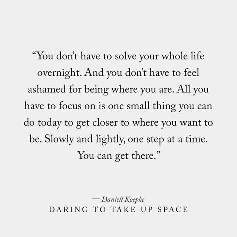 Daring To Take Up Space, a Book by Daniell Koepke | Shop Catalog