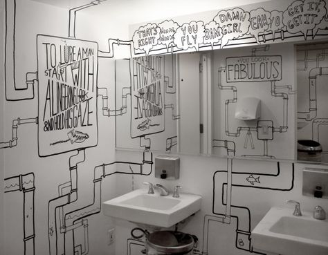 i love this! make bathroom time entertaining.